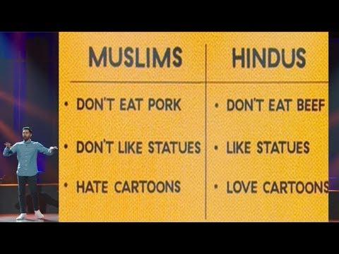Difference between Hindus & Muslims : Hasan Minhaj explains to Americans