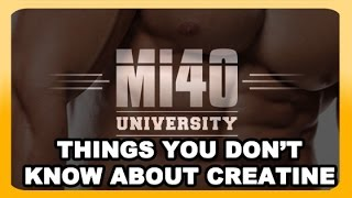 What is Creatine Supplement, What Does Creatine REALLY Do? (BONUS UNLISTED VIDEO)