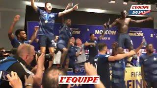 Les Bleus retourne la conf de Deschamps - Foot - CM 2018