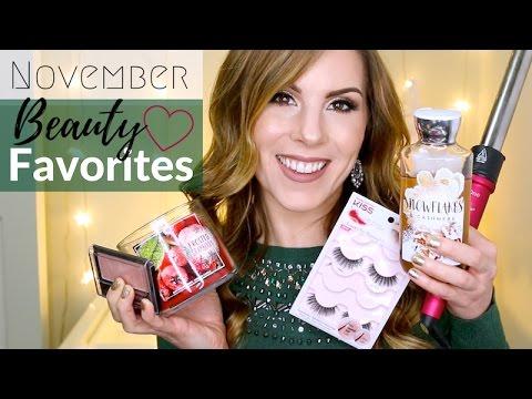 November Beauty Favorites 2016