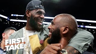 Chris Paul is a 'perfect fit' with LeBron & Anthony Davis on the Lakers - Max Kellerman | First Take