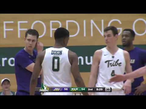 MBB: James Madison at William & Mary -- January 19th