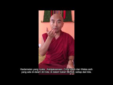 """Preview Of Public Talk """"Transforming Stress Into Inner Peace And Joy"""" In Jakarta, October 2016"""