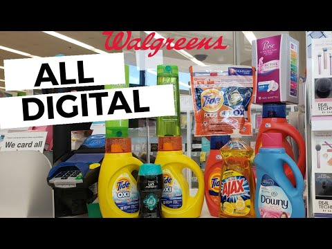 EASY! Walgreens Couponing Deal | ALL DIGITAL COUPONS! One Cute Couponer