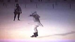 1924 Winter Olympics Herma Szabo - Sonja Henie