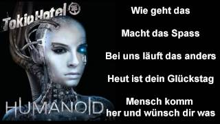Tokio Hotel - Hey du [with lyrics on screen]