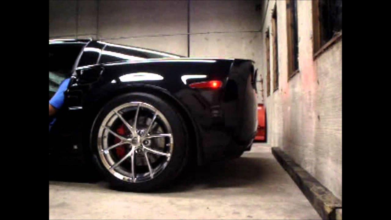 Corvette C5 Z06 >> C6 Corvette Z06 stock exhaust. - YouTube