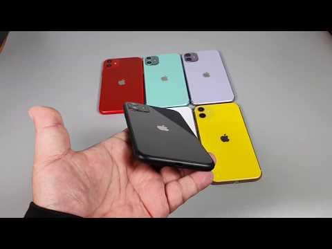 GooMea模型C貨 雙面玻璃+塑膠框 蘋果 iPhone 11 6.1吋Dummy展示樣品拍戲摔機玩具整人禮品驚喜嚇人