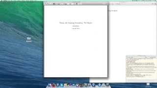 Latex Tutorial 1 of 11: Starting a Report and Title Page