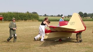 Shuttleworth Collection England - Fauvel  AV 36 Tailless  Glider - 2018