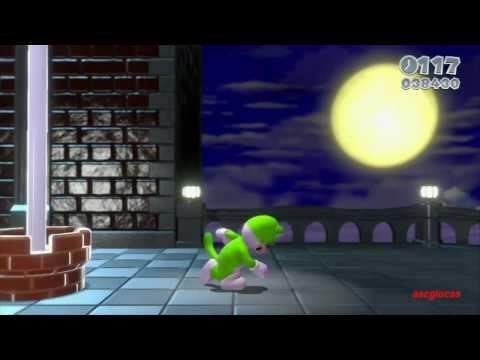 Guia Super Mario 3D World 100% (5 estrellas) Mundo 8 Bowser (1/2)