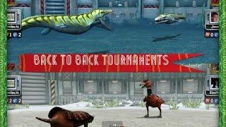 Jurassic Park Builder Aquatic & Glacier All Star Online Tournament