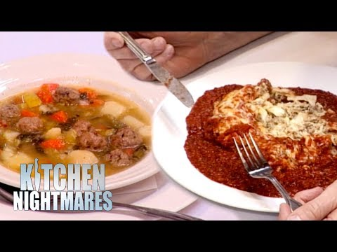 'That's Beef?! It Looks Like Canned Dog Food' | Kitchen Nightmares