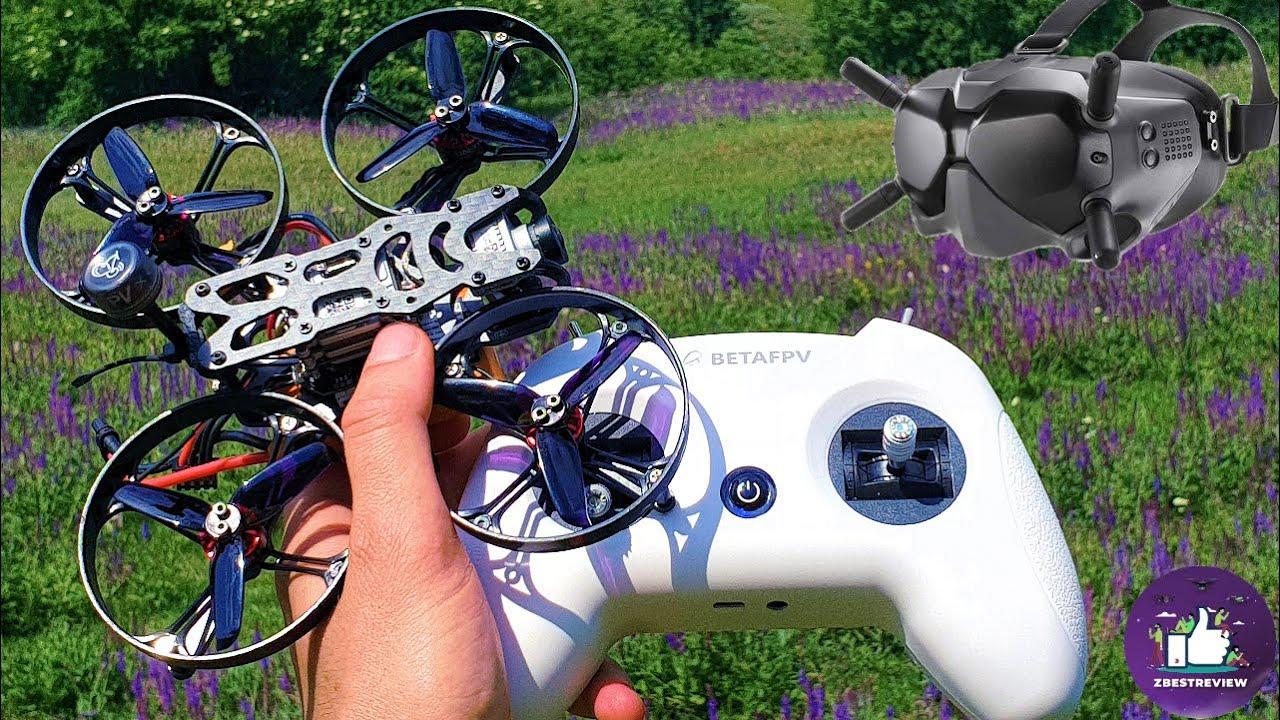 ✅  Мой первый Микро Квадрокоптер Eachine Viswhoop для Цифровых Очков DJI FPV ! 🌟🔥