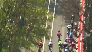 Amstel Gold Race 2015: Michał Kwiatkowski's winning sprint
