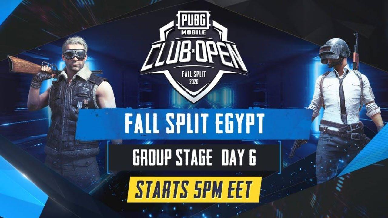 PUBG Mobile Club Open 2020 | دور المجموعات إقليم مصر اليوم السادس