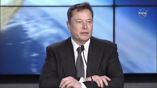 Crew Dragon post in-flight abort test press conference