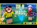 ROBLOX ELEMENTAL BATTLEGROUNDS | WE B MAGIC! | RADIOJH GAMES & DOLLASTIC PLAYS!