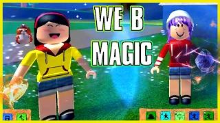 ROBLOX ELEMENTAL BATTLEGROUNDS | WIR B MAGIC! | RADIOJH SPIELE & DOLLASTIC SPIELT!