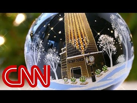Don Jr. Posts Trump Atop Christmas Tree