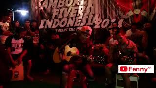 Download lagu Nunoz nyanyi Lagu Ternyata - Five Minutes (Akustikan dalam Acara Jambore Fivers Indonesia 2014)