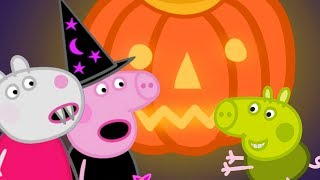 Peppa Pig in Hindi 🎃 Happy Halloween 🎃 हिंदी Kahaniya - Hindi Cartoons for Kids