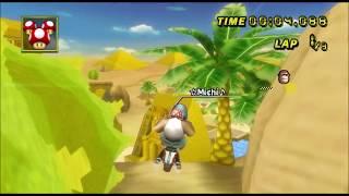 [Mario Kart Wii TAS] Dry Dry Ruins 1:39.711 |Spear