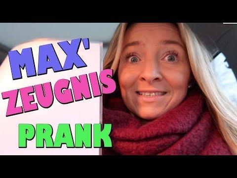 MAX' ZEUGNIS von der Schule abholen 😧 Gemeiner PRANK an MAX 😂 Vlog # 267 🌸 marieland 💐