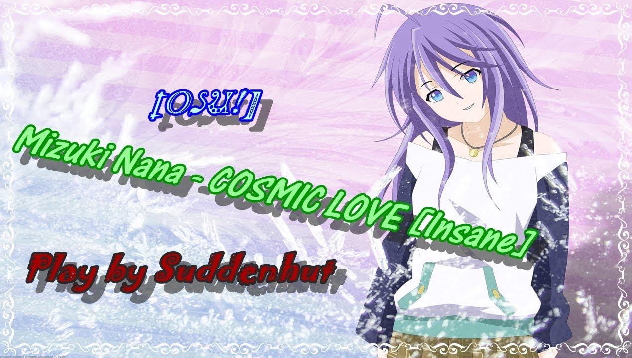 Anime Lyrics dot Com - COSMIC LOVE - Mizuki …