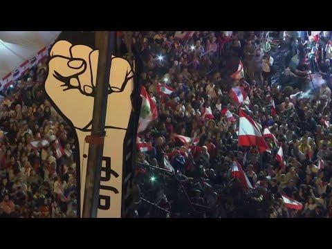 تنصيب مجسم الثورة اللبنانية الجديد  - نشر قبل 30 دقيقة
