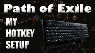 Path of Exile: My Hotkey Setup & Keybinding Tips to Prevent Muscle Strain or HC Deaths