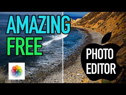 EASY and FREE Photo Editing on Macs
