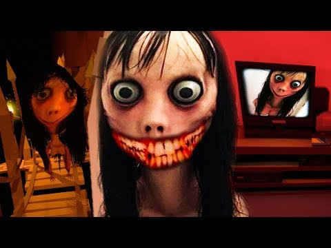 HIDE AND SEEK WITH MOMO..DONT LET HER FIND YOU! || MOMO 2 Creepypasta Horror Game