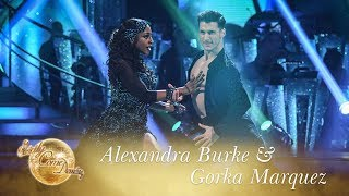 Alexandra Burke & Gorka Marquez Paso Doble to 'Ven a Bailar' - Strictly Come Dancing 2017