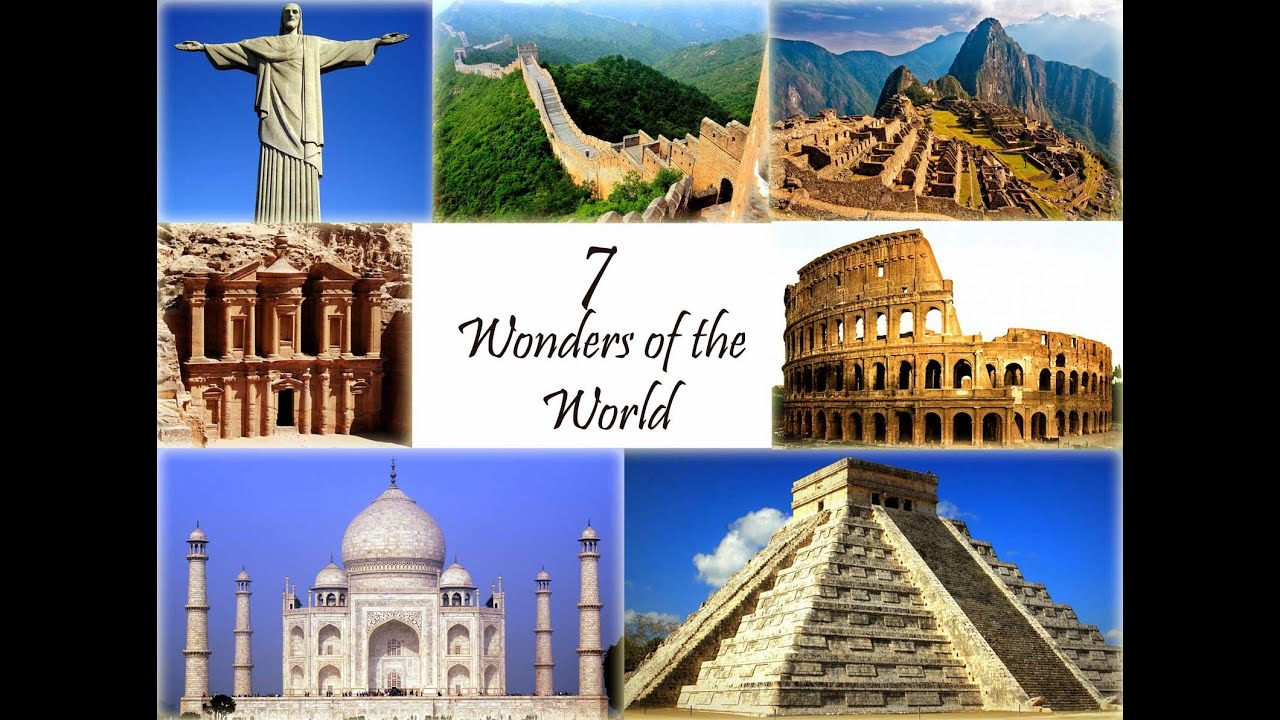 Short Note & Essay on Seven Wonders of the World