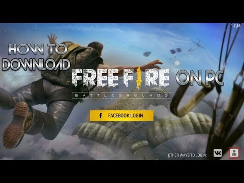 How to download Free Fire on pc - YouTube