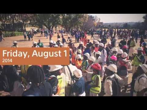 Miners Day at Wits