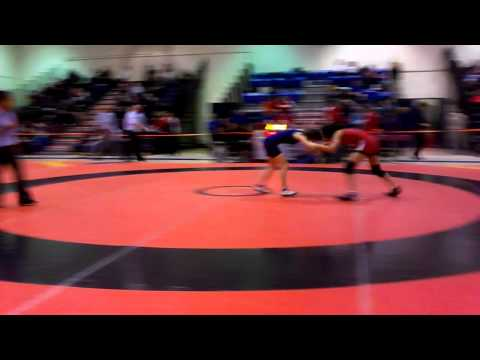 2014 Ontario Juvenile Championships: 46 kg Bronze Gurleen Tak vs. Sarah Hein