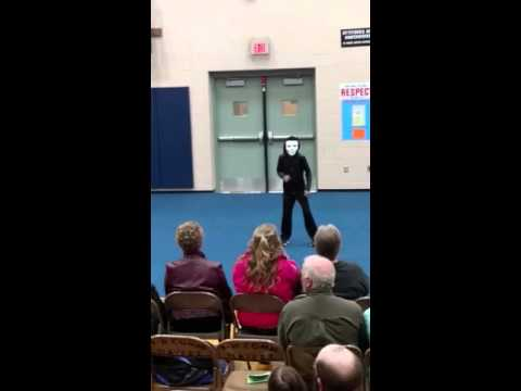 Talent show dancing to Animals by Martin Garrix