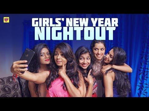 Girls' Mandhu Sitting | New Year Night Out | Girl Formula | Chai Bisket
