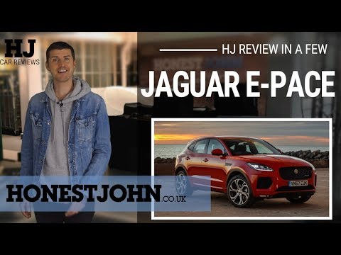 Car review in a few | 2018 Jaguar E-Pace - weird looking and rough...but you'll love this Growler
