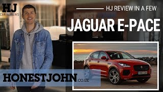 Car review in a few | 2018 Jaguar E-Pace - weird looking and rough...but you