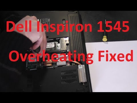 dell inspiron 1545 overheating problem step by step guide to fix rh youtube com Dell Inspiron 1545 AC Adapter Dell Inspiron 1545 Laptop