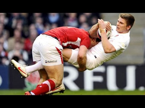 Here comes the boom | Rugby's biggest hits | side steps | try's | ect..