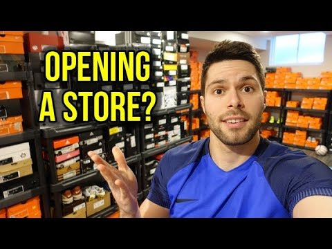 OPENING MY OWN SOCCER STORE?