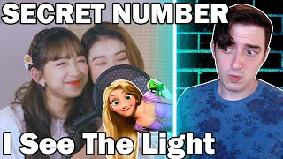 "SECRET NUMBER Singing ""I See The Light"" From Tangled 