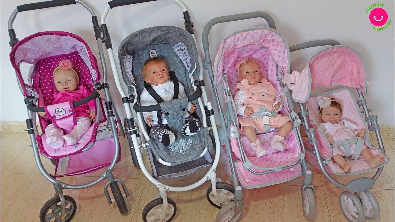 Preparamos Pañaleras para el paseo de los bebés Reborns