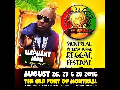ELEPHANT MAN aka ENERGY GOD MIRF2016 FOR TROPICAL DJS MONTREAL RADIO