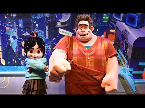 NEW Vanellope & Wreck-It Ralph Meet & Greet at Epcot - Ralph Breaks the Internet, Walt Disney World
