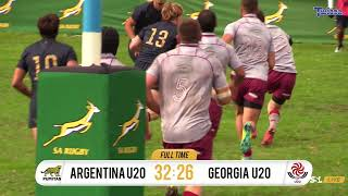 U20 International Series - Georgia U20s vs Argentina U20s